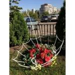 Кованая цветочница — Артикул №021