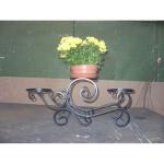 Кованая цветочница — Артикул №006