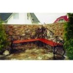 Садовая скамейка- Артикул №017