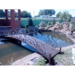 Кованый мостик — Артикул № 001